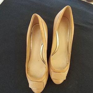 Coach Shoes - Coach Wedge Pumps Size 5